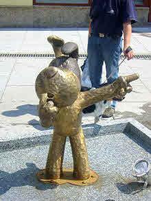 Памятник псу Рексу