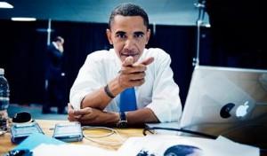 Барак Обама смотрит на тебя!