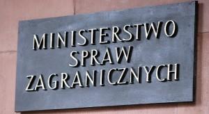 Министерство заграничных дел в Польше