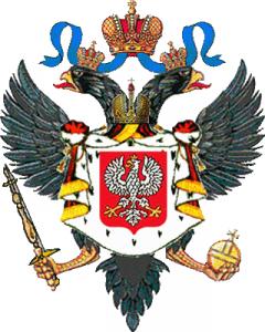 Польский флаг 1815 года