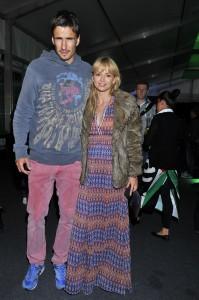 Анна Пшибыльская с мужем