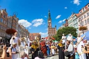 Гданськ, ярмарка 31 июля