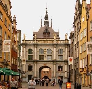 Гданськ, Золотые ворота