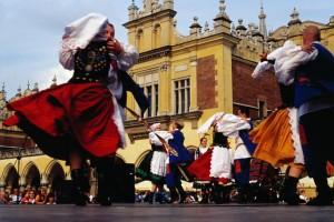 Фольклорный фестиваль в Кракове