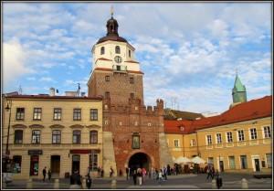 Люблин, Краковские ворота
