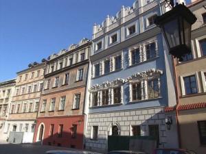 Люблин, дома на Рыночной площади