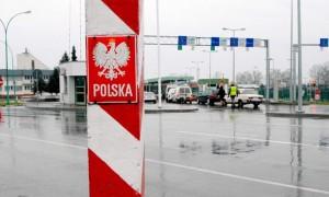 очередь на границе с Польшей