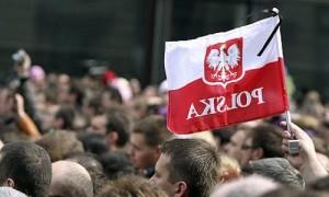 изображение с флагом Польши
