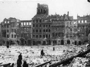 Варшава после войны