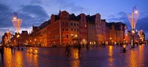 Вроцлав, рыночная площадь