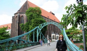 Тумский мост и костел Девы Марии «на песке»