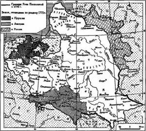 1 раздел Польши